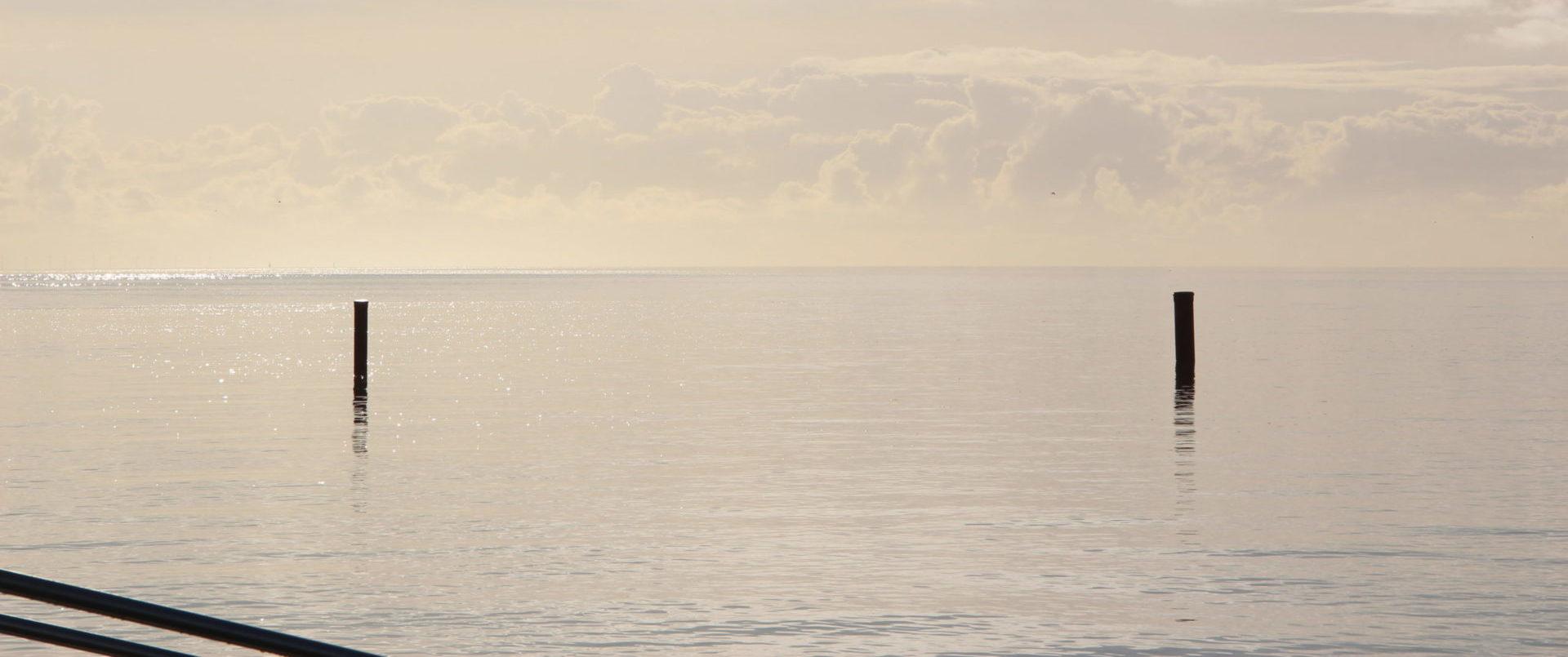 Norddeich bei ruhiger See